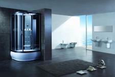 Дизайн ванной комнаты с гидробоксом