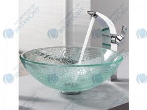 Умывальник KRAUS Mosaic Glass GV-500-12mm