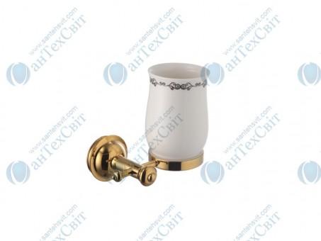 Стакан для зубных щеток WELLE (D50050AS)