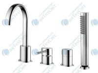 Смеситель для ванны WELLE Leon QA28174D