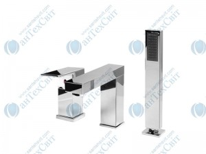 Смеситель для ванны WELLE XM28024D-1320B