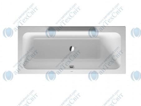Акриловая ванна DURAVIT 170x75 DuraStyle (700297000000000)