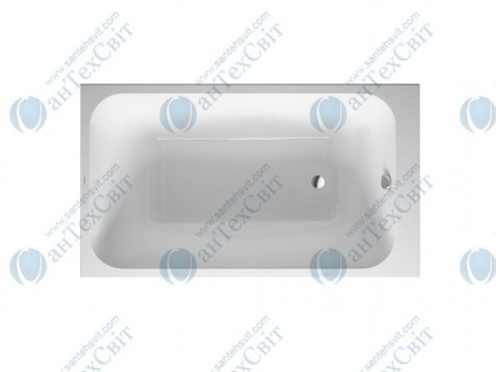 Акриловая ванна DURAVIT 140x80 DuraStyle (700233000000000)