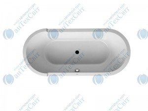 Акриловая ванна DURAVIT 180x80 Starck (700009000000000)