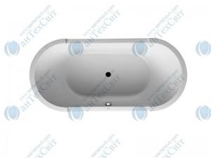 Акриловая ванна DURAVIT 190x90 Starck (700011000000000)