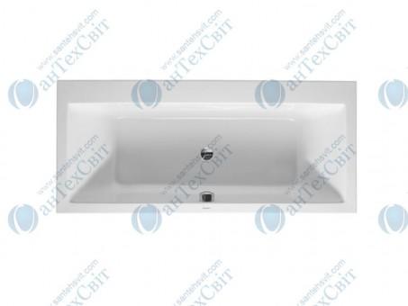 Акриловая ванна DURAVIT 180x80 Vero (700135000000000)