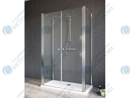 Душевая дверь RADAWAY Eos II DWD+2S 80 (3799400-01)