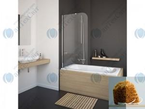 Шторка для ванной RADAWAY Torrenta PNJ 80 (201101-105NL)