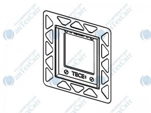 Рамка для монтажа клавиши смыва TECE Loop Urinal в уровень со стеной 9242646