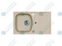 Гранитная мойка ALVEUS R&R Record 30-G55 P-U beige 1090980