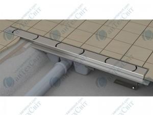 Душевой канал RAVAK Chrome 105 (X01429)