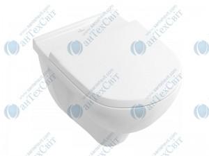 Чаша подвесного унитаза VILLEROY&BOCH O.novo Direct Flush  с крышкой soft-close 5660HR01