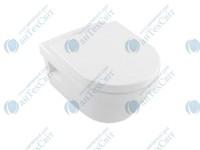Чаша подвесного унитаза VILLEROY&BOCH Omnia Architectura Directflush с крышкой soft-close 5684HR01
