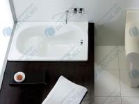 Стальная ванна BLB Europa 105*70 с сиденьем
