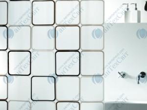 Шторка для ванной виниловая SPIRELLA  Frame 200х180 (10.01942)