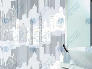 Шторка для ванной виниловая SPIRELLA  Skiline 200х180 (10.11572)
