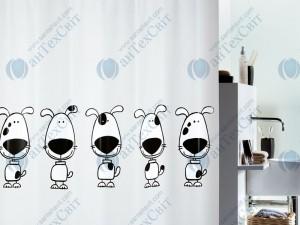 Шторка для ванной виниловая SPIRELLA  Beagle 200х180 (10.12416)