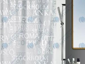 Шторка для ванной виниловая SPIRELLA  Cities 200х180 (10.13044)