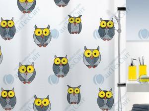 Шторка для ванной винилова SPIRELLA  Owl 200х180 (10.16132)