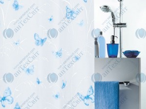 Шторка для ванной виниловая SPIRELLA  Butterfly 200х180 (10.28191)