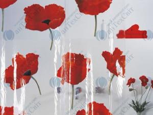 Шторка для ванной виниловая SPIRELLA  Poppy 200х180 (10.42344)