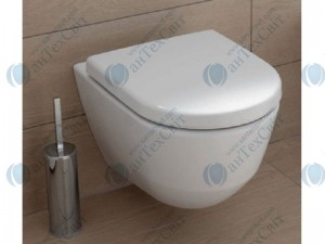 Чаша подвесного унитаза LAUFEN Pro  Rimless (8209660000001) с сиденьем дюропласт slow-closing (8939563000001)