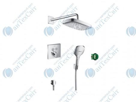 Душевая система HANSGROHE Raindance Select E/ShowerSelect (27296000)