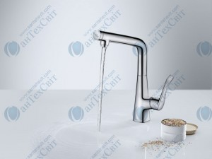 Кухонный смеситель HANSGROHE Metris Select 14883000