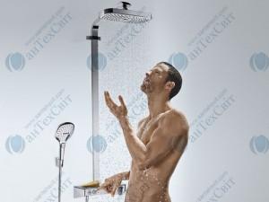 Душевая система HANSGROHE Raindance Select E 300 Showerpipe 27126000