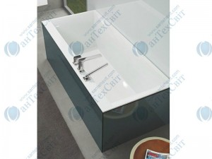 Квариловая ванна VILLEROY&BOCH 180*80 Squaro Edge 12 UBQ180SQE2DV-01