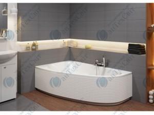 Акриловая ванна CERSANIT Joanna new 140 левая