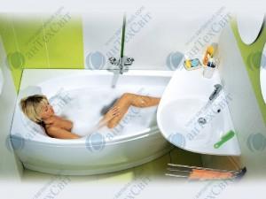 Акриловая ванна  RAVAK Avocado 160 CQ01000000