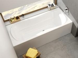 Акриловая ванна  RAVAK Campanula II 180 CB21000000