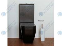 Бачок для унитаза моноблок с механизмом слива и специальным набором крепежей  FLAMINIA Link Niagara (TR39 grafite)