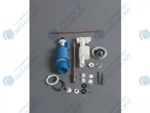 Пневматический механизм слива с хромированной кнопкой для моноблочного бачка Frozen SIMAS Frozen (D 15)