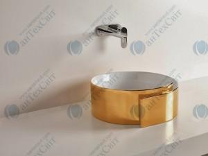 Умывальник FLAMINIA Roll (RL44L gold /platinum)