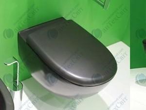 Сиденье для унитаза FLAMINIA Spin (5085CW03 black)