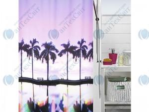 Шторка для ванной текстильная SPIRELLA Palm Beach 200х180 (10.18475)