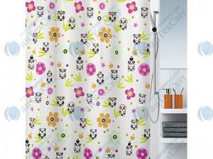 Шторка для ванной текстильная SPIRELLA Panda Life 200х180 (10.18471)