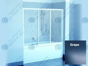 Шторка для ванной RAVAK AVDP3 170 40VV0U02ZG