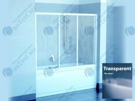 Шторка для ванной RAVAK AVDP3 180 40VY0102Z1