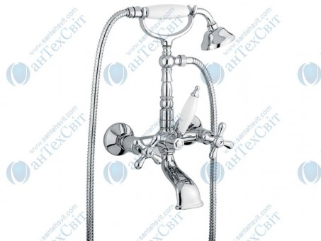 Смеситель для ванны EMMEVI Deco CR12611