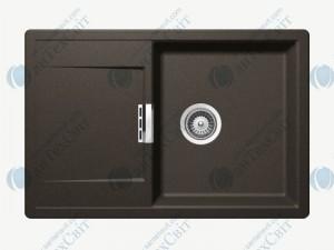 Кухонная мойка SCHOCK Mono D-100 carbonium