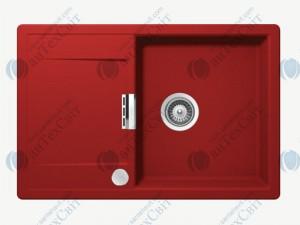 Кухонная мойка SCHOCK Mono D-100 rouge