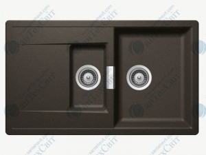 Кухонная мойка SCHOCK Mono D-150 carbonium