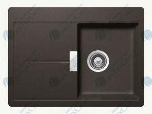 Кухонная мойка SCHOCK Horizont D-100S carbonium