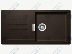 Кухонная мойка SCHOCK Signus D-100L bronze