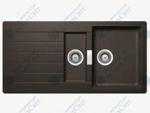 Кухонная мойка SCHOCK Signus D-150 carbonium