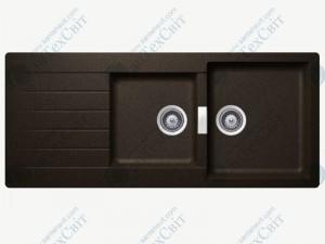 Кухонная мойка SCHOCK Signus D-200 bronze