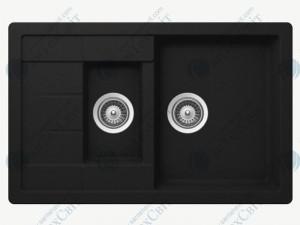 Кухонная мойка SCHOCK Manhattan D-150S onyx